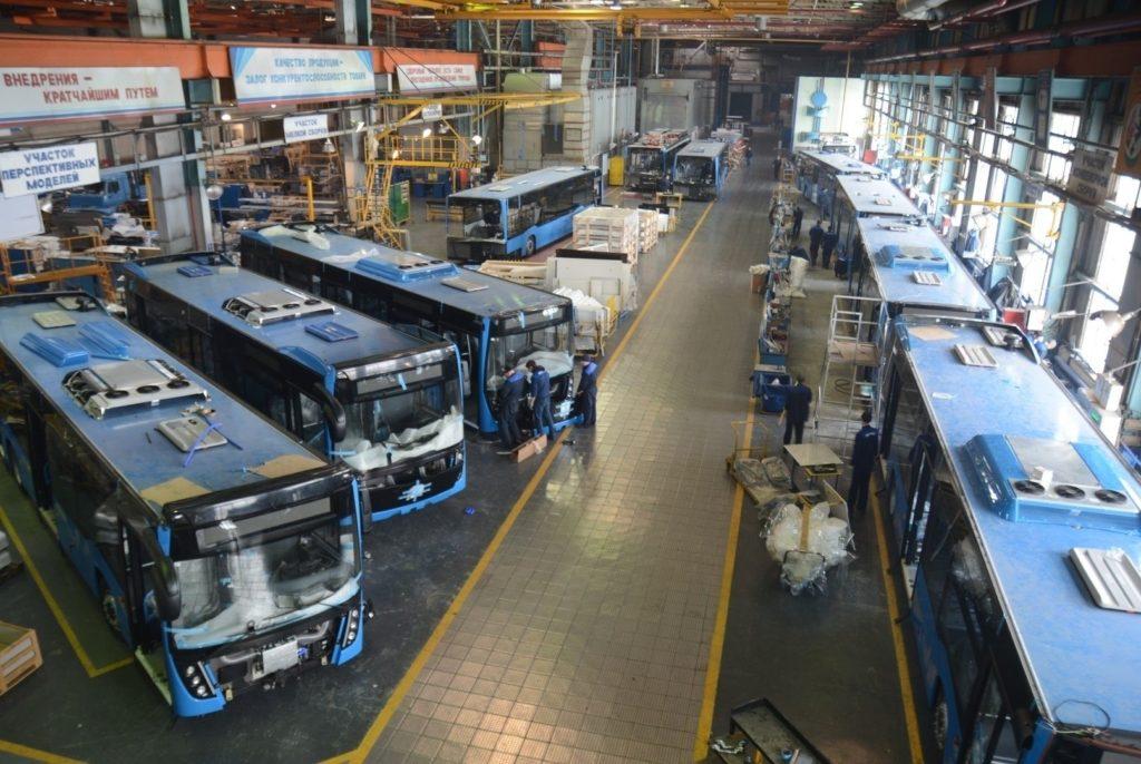 Модернизация автобусного производства на «НЕФАЗЕ»