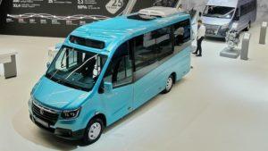 ГАЗ получил сертификат на принципиально новый автобус