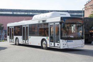 МАЗ заканчивает испытания новых газовых автобусов