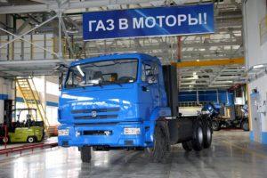 Компания «КАМАЗ» наращивает производственные объемы для изготовления газомоторной техники